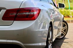 Benz E350 Coupe After Nano Ceramic