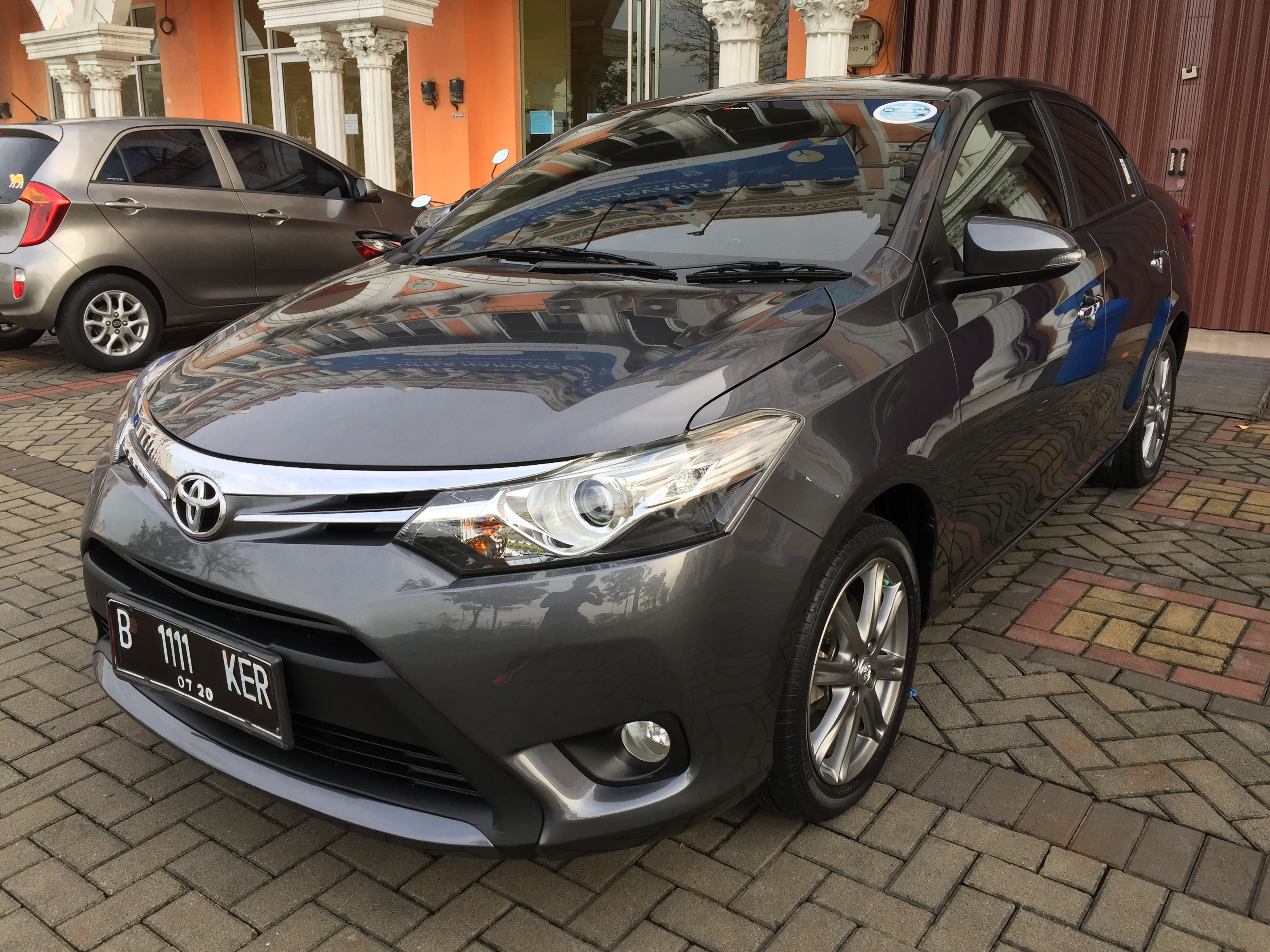 Toyota Vios Nano Ceramic Coating