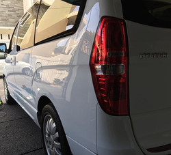 This car is HUGE!_H-1 with ceramic coating paint protection.