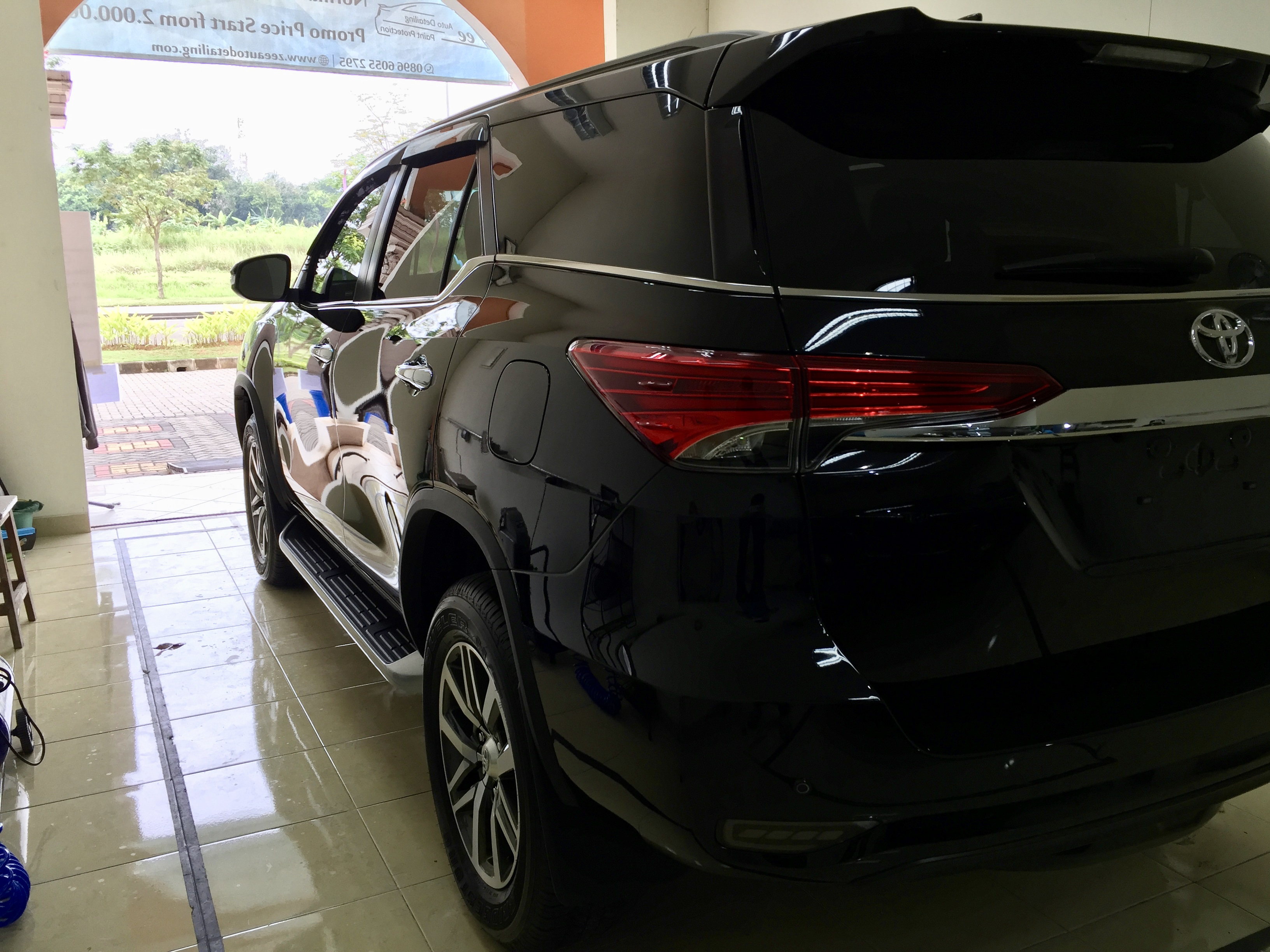All New Fortuner Ceramic Coating
