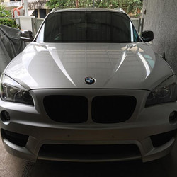 BMW X1 after triple layer ceramic coating.