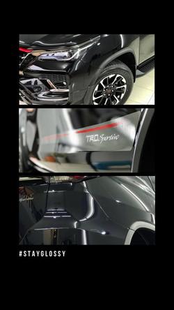 Ceramic Coating Toyota Fortuner