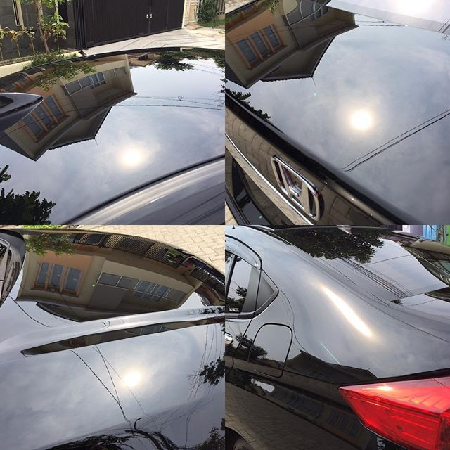 Suncheck 😁__#swirlfree #paintcorrection #honda #city #ivtec #meguiars #rupes #lhr21es #carpro #esse