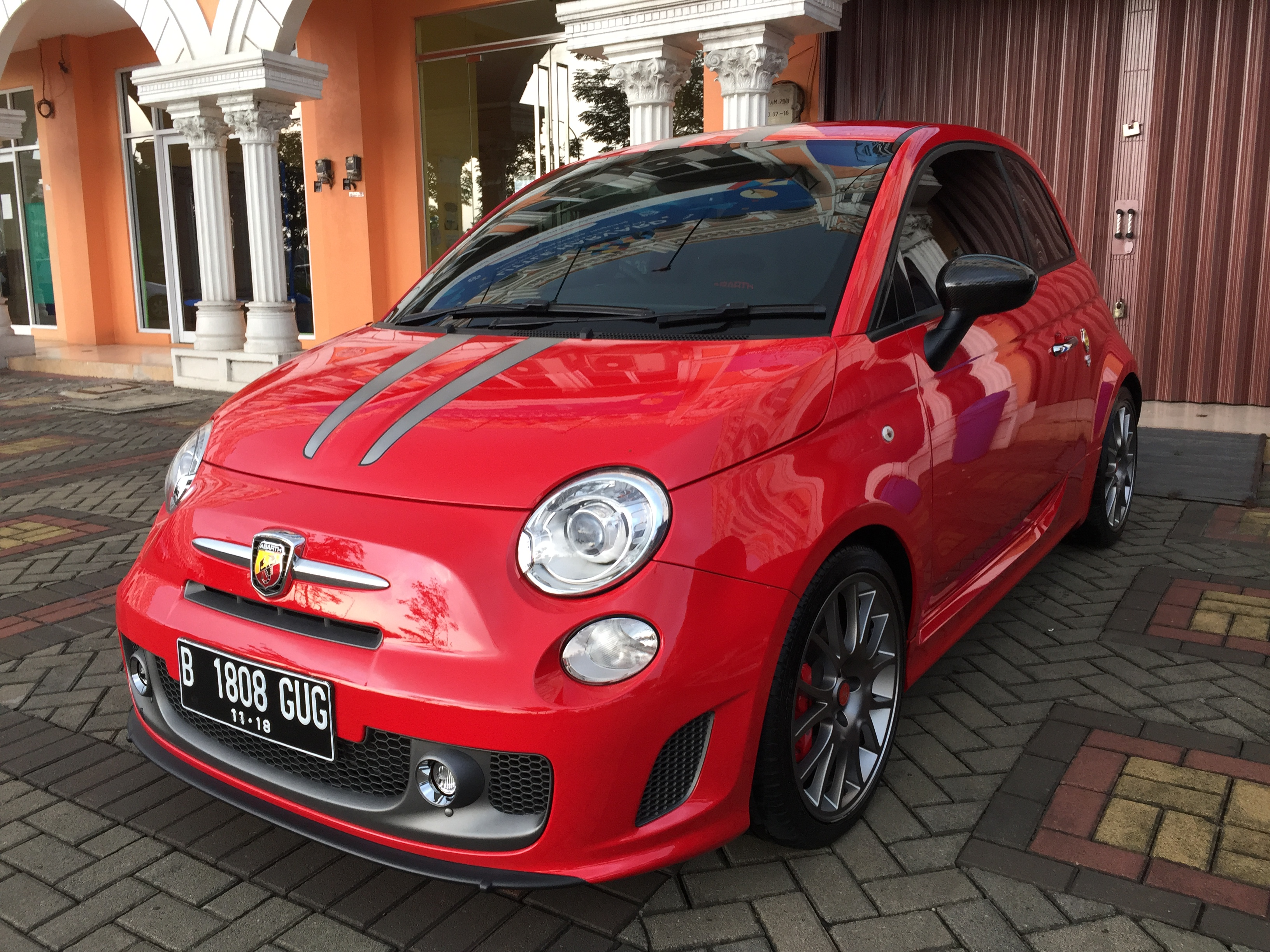Abarth Tributo Ferrari Premium Wash