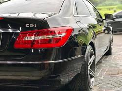 E250 Coupe Ceramic Coating