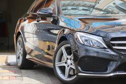 Mercedes C250 Ceramic Coating