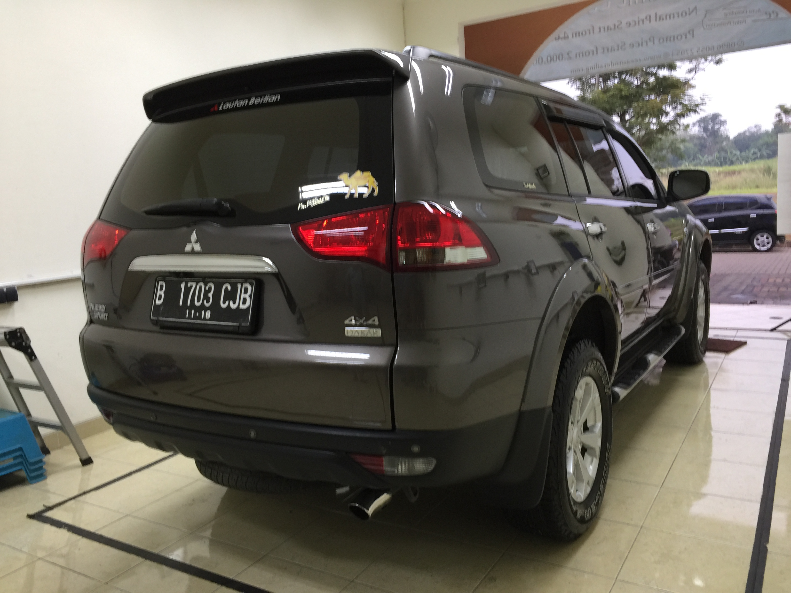 Pajero Sport Comprehensive Detail
