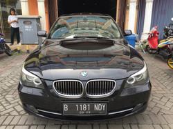 BMW E60 after auto detailing