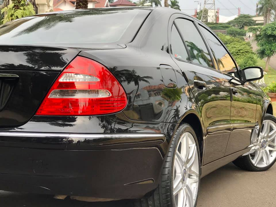w211 E260 Nano Ceramic Coating