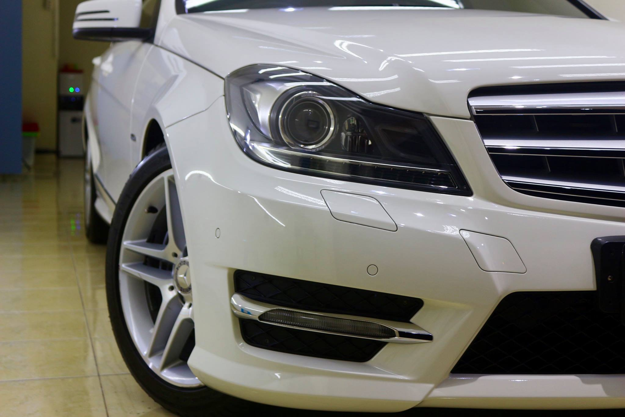 C250 AMG Nano Ceramic Coating