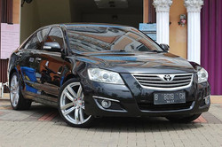 Toyota Camry after exterior detailing.