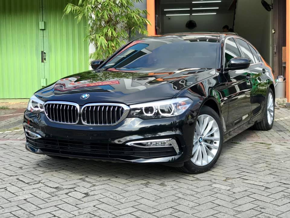 BMW 530i After Ceramic Coating