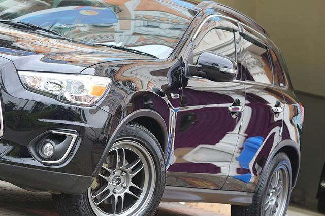 Mitsubishi Outlander Sport done.._Comprehensive detail + 1 layer ceramic coating