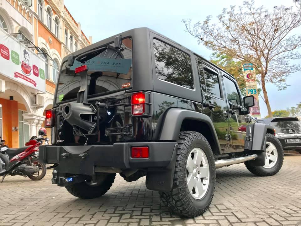 Jeep Wrangler After Ceramic Coating