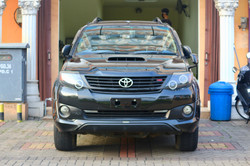 Toyota Fortuner After Auto Detailing