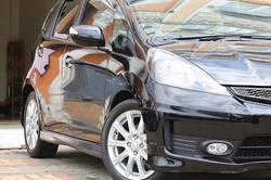 Honda Jazz GE8 after double layer ceramic coating 😎__#honda #jazz #ge8 #jdm #premiumautocare #ivtec