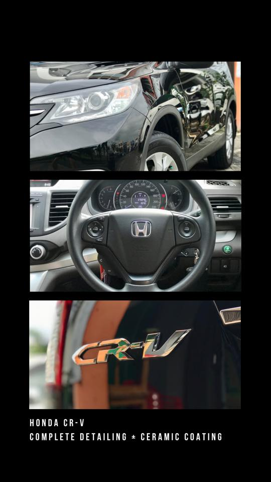 Honda CR-V Ceramic Coating