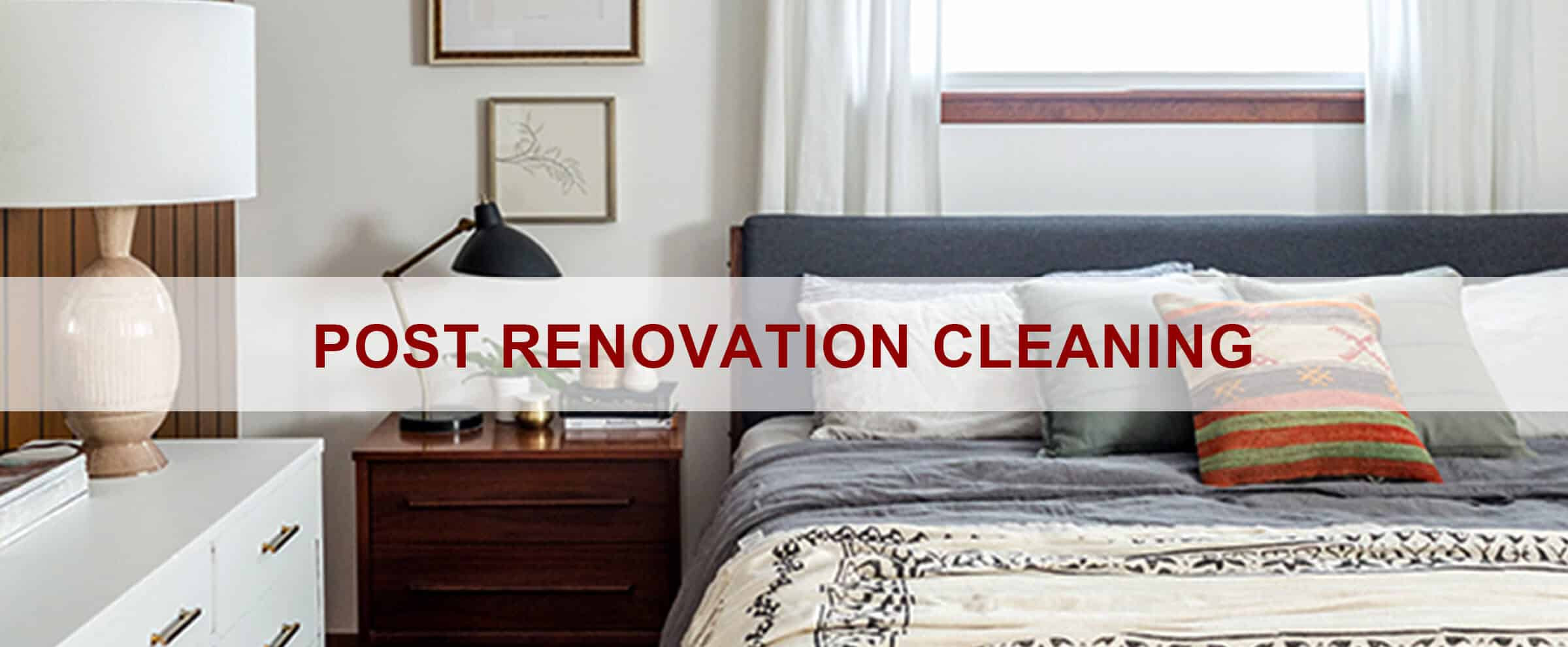Post Renovation Clean