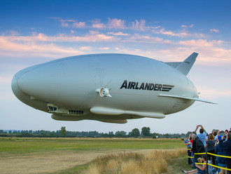 Going electric: Latest Airlander production design features numerous changes improving efficiency, r