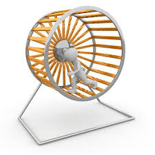 Get off the hamster wheel …