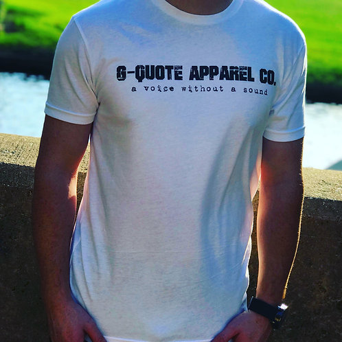 G-Quote Apparel Co. Fitted Tee White