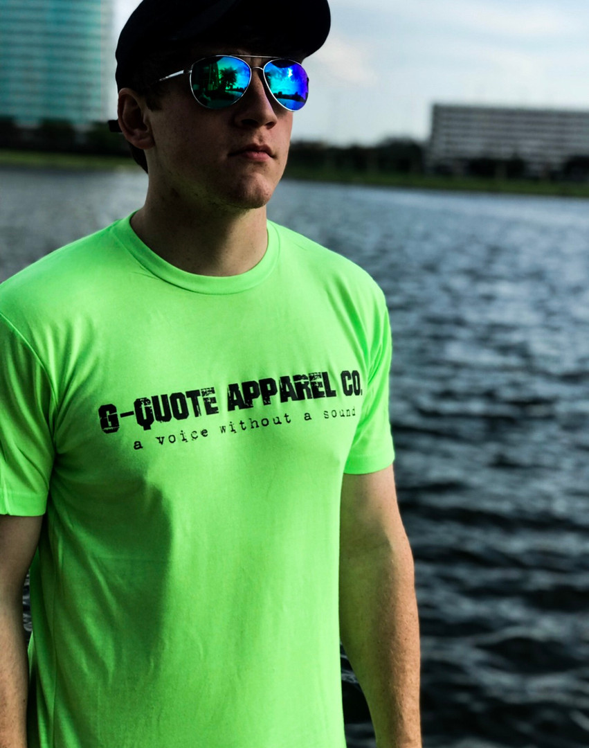 G-QUOTE LOGO TEE GREEN