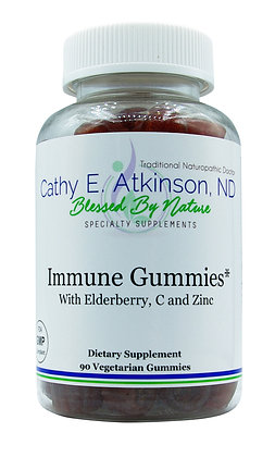 Immune Gummies (with Elderberry, C & Zinc)