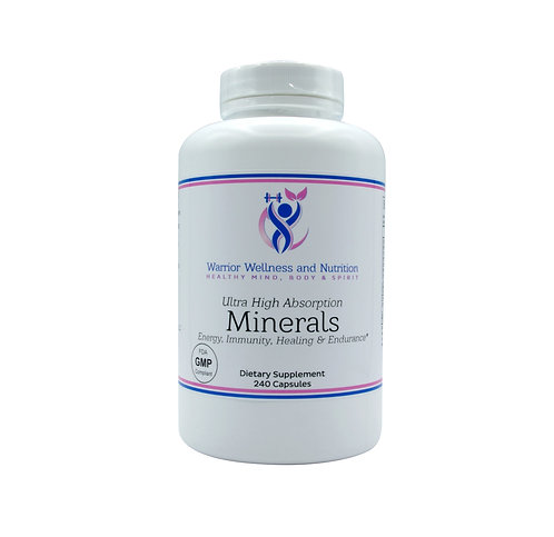 Mineral Capsules 240s