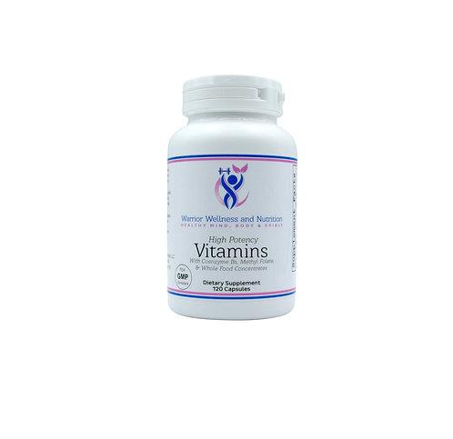 Vitamins + coenzyme Bs (120 Vegetarian Capsules)