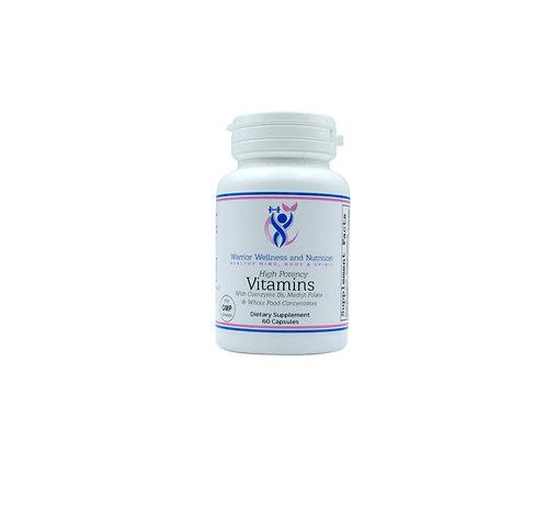 Vitamins + coenzyme Bs (60 Vegetarian Capsules)