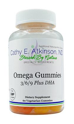 Omega Gummies (3/6/9 Plus DHA)