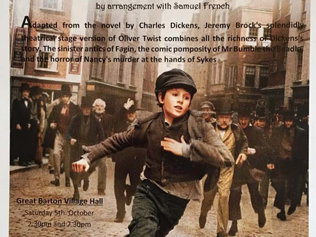 """Oliver Twist"" comes to Barnham!"
