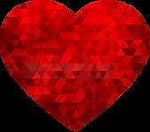 PNGPIX-COM-Polygonal-Heart-PNG-image-250