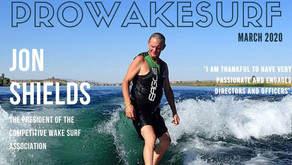 Jon Shields - The President of the Competitive Wake Surf Association