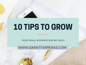 10 Tips to Grow Your Online Business and Increase Sales