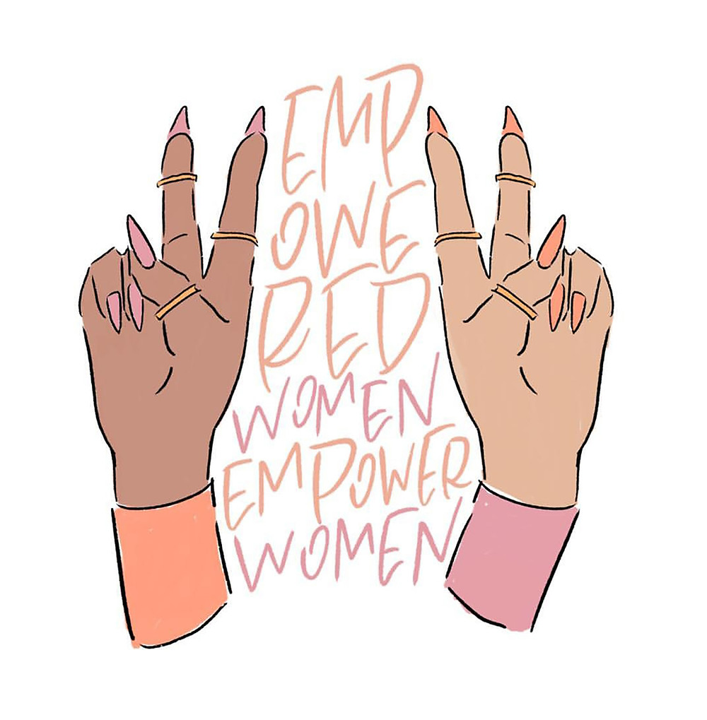 Mauve Paper Co Empowered Women Print