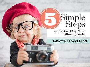 5 Simple Steps to Better Etsy Shop Photography