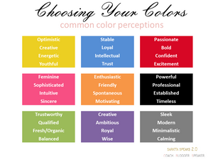 Choosing Colors for Your Brand