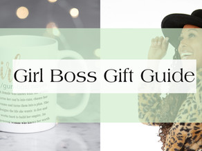 Girl Boss Gift Guide 2019: Girl Boss Essentials