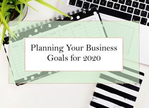 Planning Your Business Goals for 2020