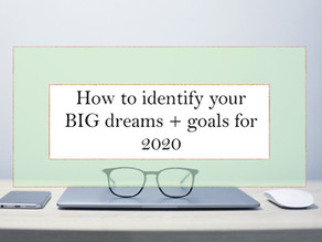 How to Identify and Map your Dreams and Goals for 2020