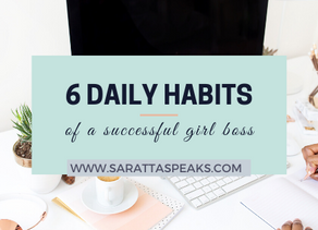 How to Establish Daily Habits & Routines as a Girl Boss Entrepreneur
