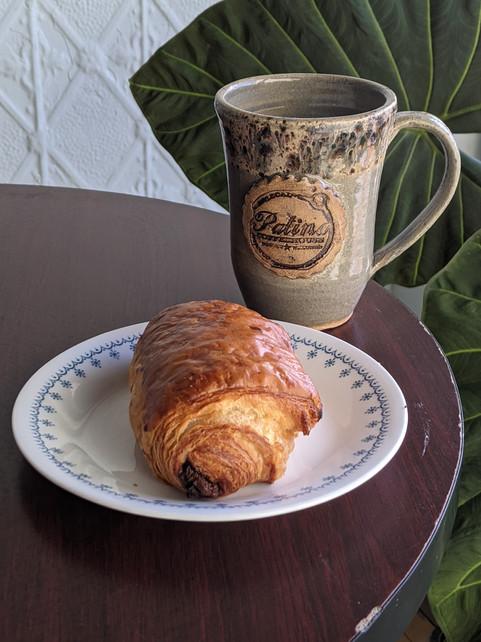 Chocolate Croissant & Coffee