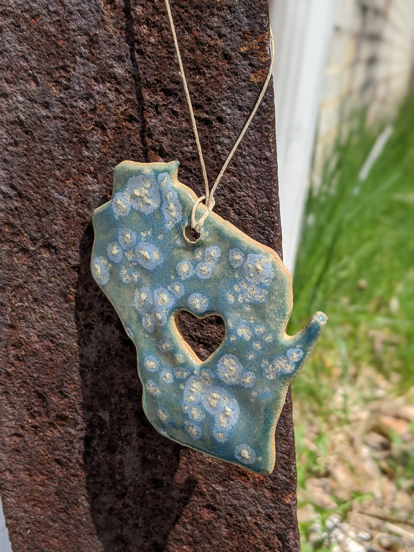 Wisconsin Ornament