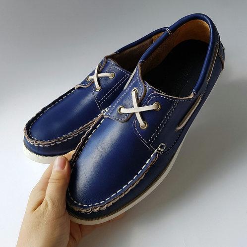 Топсайдери Сині 38 розмір (24.5 см)