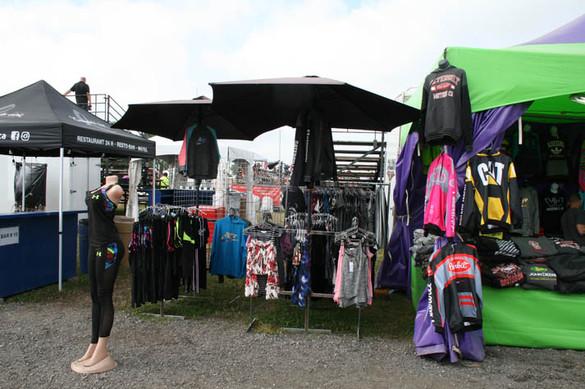 Kiosque de vêtements