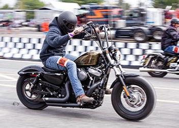 Course de moto