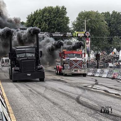Course de camions lourds au Challenge 255