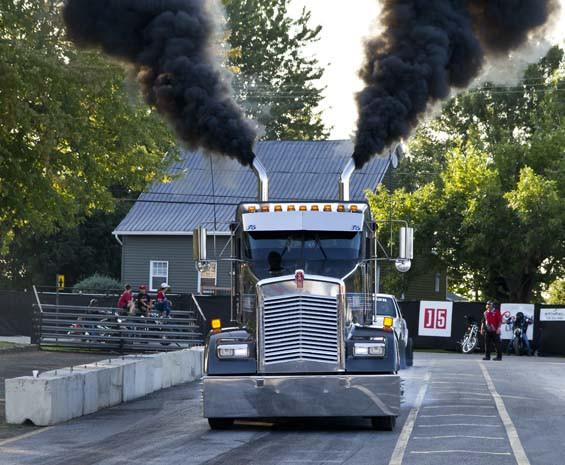 Show de camion lourd