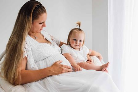 Muttertochter, Schwangerschaft, Große Schwester, Schwesterwerden, Mutterkindbindung